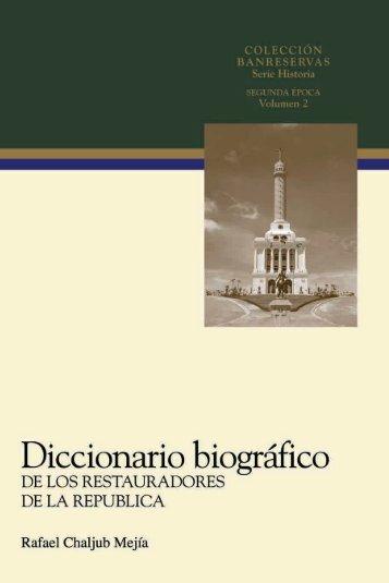 Diccionario biográfico - Banco de Reservas