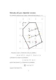 Metoda sítí pro eliptické rovnice - Atrey