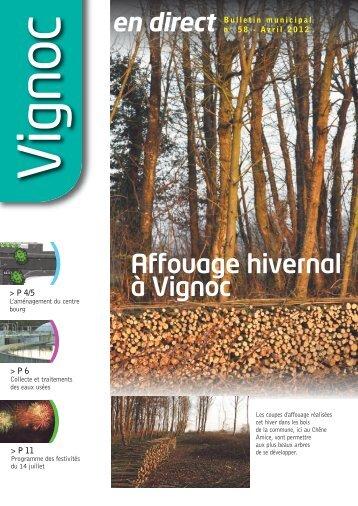 Avril 2012 - Réseau des Communes