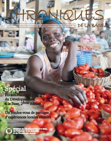 Chroniques de la base N°4.pdf - République Togolaise