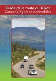 Guide de la route du Yukon