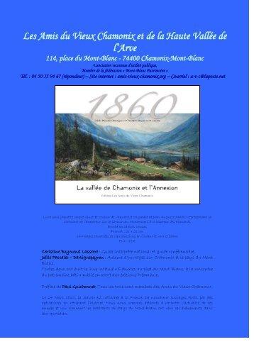 Les Amis du Vieux Chamonix et de la Haute Vallée ... - visites guidées