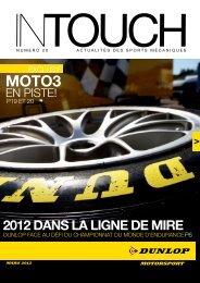 2012 DANS LA LIGNE DE MIRE - Dunlop Motorsport