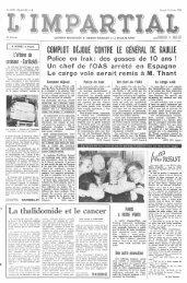 complot déjoué contre le général de gaulle - Archives historiques   L ...