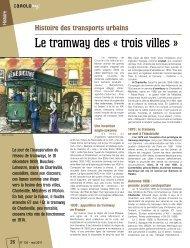 Tiré à part n°150 - Le tramway des « trois villes - Ville de Charleville ...