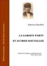a lire : mansfield_garden_party (format pdf) - eurocles.com
