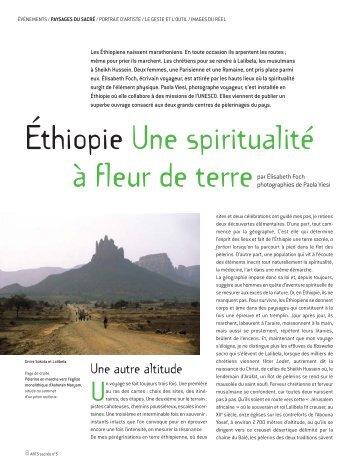 Éthiopie Une spiritualité à fleur de terre (ARTS ... - PAOLA VIESI