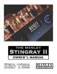Connecting Your Stingray II - Audio-Life