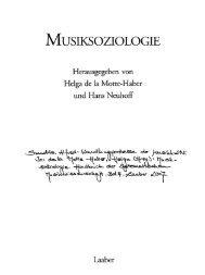 Wandlungsprozesse der Musikkultur - Ästhetische Strategien