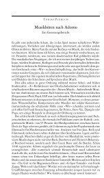 Plebuch, Tobias: Musikhören nach Adorno - Ästhetische Strategien