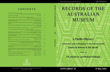 Complete work (11480kb PDF) - Australian Museum