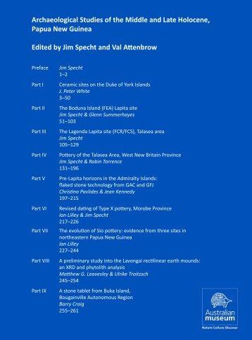 Complete work (7152kb PDF) - Australian Museum