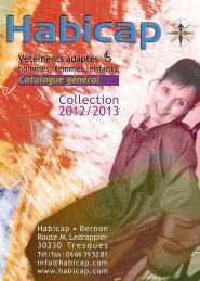 Collection 2012/2013 Collection 2012/2013 - Habicap