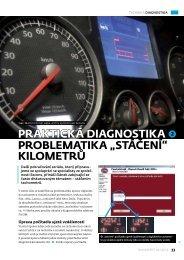 """""""stáčení"""" kilometrů - Auto diagnostics"""