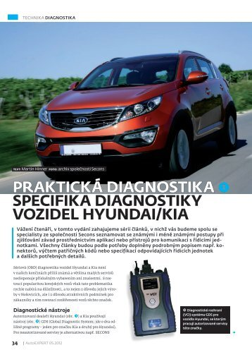 Praktická Diagnostika sPecifika Diagnostiky ... - Auto diagnostics