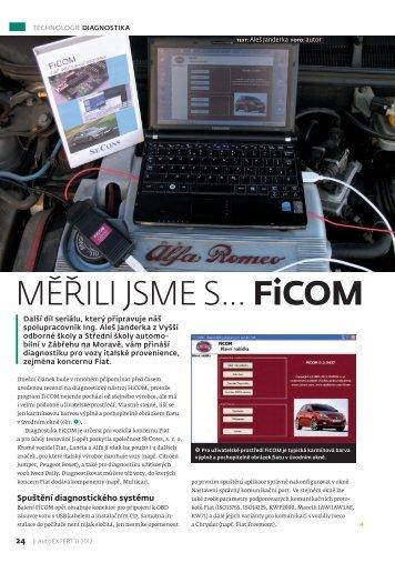 Měřili jsme s ... FiCOM - Auto diagnostics