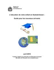 Guide pour les nouveaux arrivants - Education