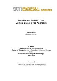 Data Format for RFID Data Using a Data-on-Tag Approach