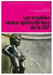 Les troubles vésico-sphinctériens - Arsep
