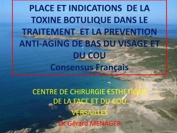 PLACE ET INDICATIONS DE LA TOXINE BOTULIQUE DANS LE ...