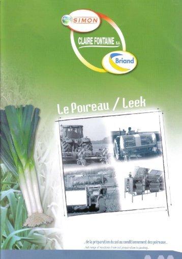 de la préparation du sol au conditionnement des poireaux