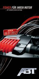 ABT Power Flyer - Auto Bach GmbH