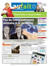 13/06/2007 - Aufait Maroc