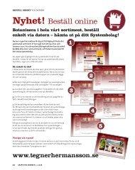 Nyhet! Beställ online - Hermansson & Co