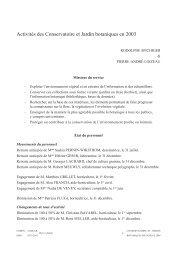 MEP Candollea 59/1 (complet) - Ville de Genève