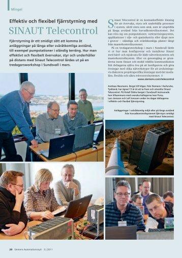 SINAUT Telecontrol - Industry - Siemens
