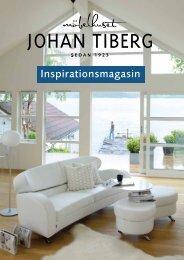 Inspirationsmagasin - Johan Tiberg. Möbler