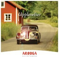 Broschyr - Upplevelser (pdf 781 kB, nytt fönster)