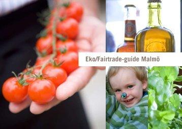 Eko/Fairtrade-guide Malmö - Catarina Rolfsdotter-Jansson