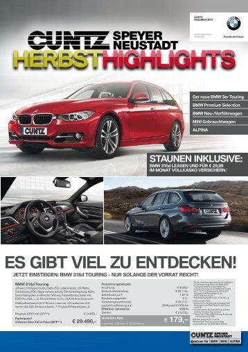 ES GIBT VIEL ZU ENTDECKEN! - Autohaus Cuntz