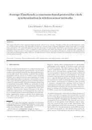 Average TimeSynch: a consensus-based protocol for ... - Automatica