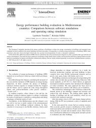 Energy performance building evaluation in ... - Automatica
