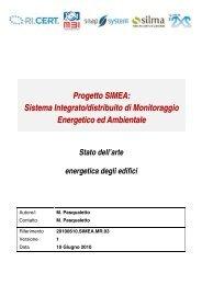 Stato dell'arte energetica degli edifici - Automatica - Università degli ...
