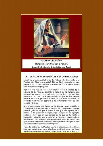Palabra del Senor. Reflexion para Orar con la ... - Autores Catolicos