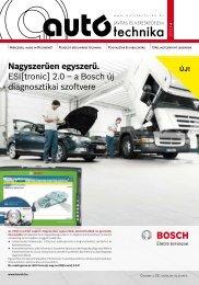 Nagyszerűen egyszerű. ESI[tronic] 2.0 – a Bosch új ... - Autótechnika