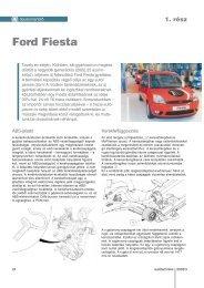 Ford Fiesta - Autótechnika