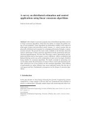 A survey on distributed estimation and control ... - Automatica