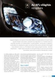 Az AFL-világítás vizsgálata - Autótechnika
