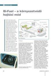 Bi-Fuel – a környezetvédő hajtási mód - Autótechnika