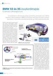 BMW X3 és X5 összkerékhajtás - Autótechnika
