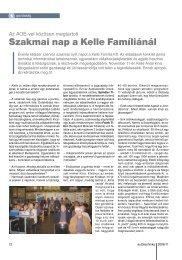 Szakmai nap a Kelle Famíliánál - Autótechnika