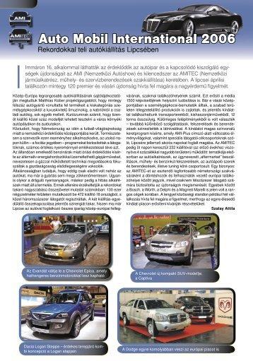 Auto Mobil International 2006