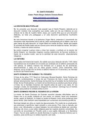 EL SANTO ROSARIO - Autores Catolicos