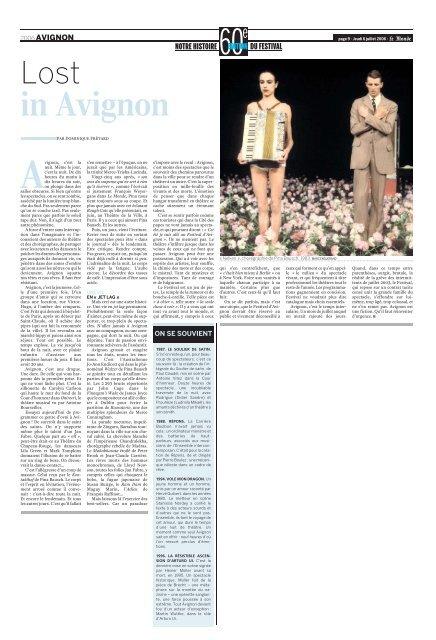Avignon - Le Monde