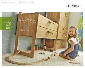 team 7 camerette schede corti progetto natura. Black Bedroom Furniture Sets. Home Design Ideas
