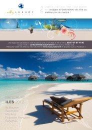 Téléchargez notre brochure 2012 - My Luxury Travel